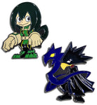MY HERO ACADEMIA - FROPPY & TSUKUYOMI PINS