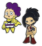 MY HERO ACADEMIA - CREATIE & GRAPE JUICE PINS