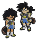 DRAGON BALL SUPER BROLY - BROLY KID & GOKU KID PIN SET