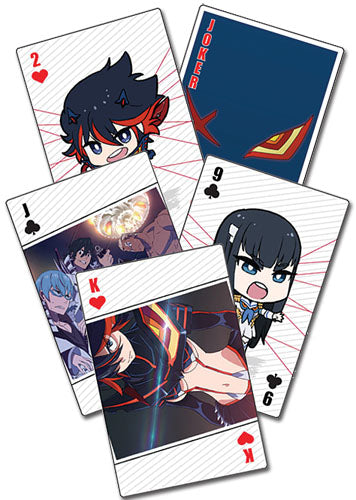 KILL LA KILL - PLAYING CARDS