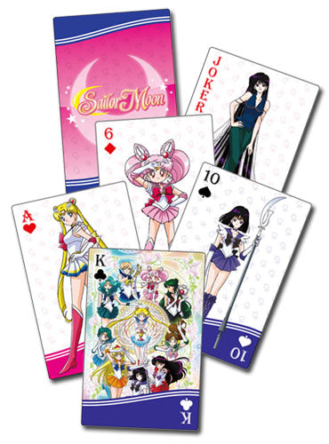 SAILOR MOON S - GROUP PLAYING CARDS