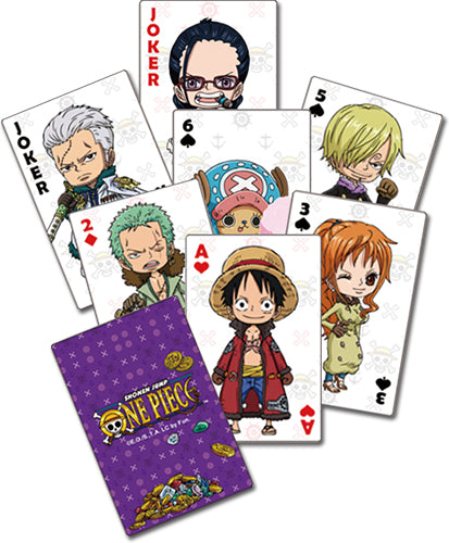 ONE PIECE - GROUP PLAYING CARDS