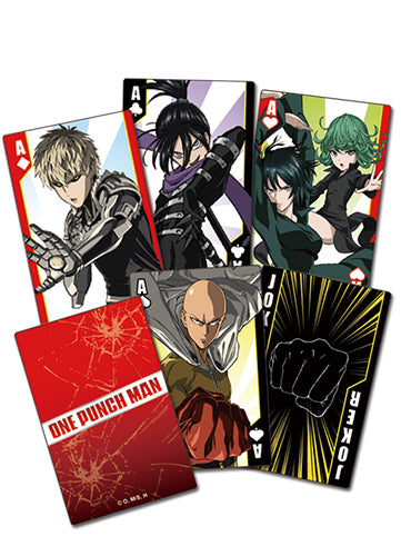 ONE PUNCH MAN - SCREENSHOT PLAYING CARDS