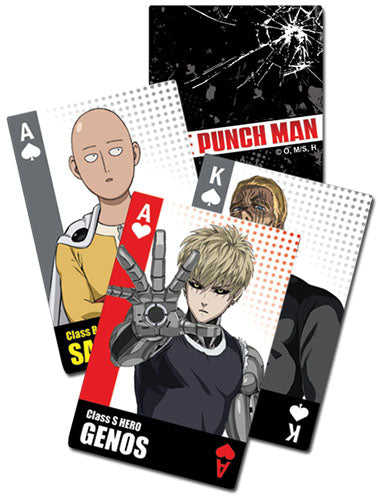 ONE PUNCH MAN - CHARACTERS BUST GROUP PLAYING CARD