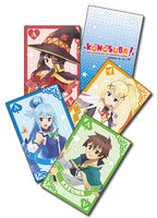 KONOSUBA - GROUP PLAYING CARDS