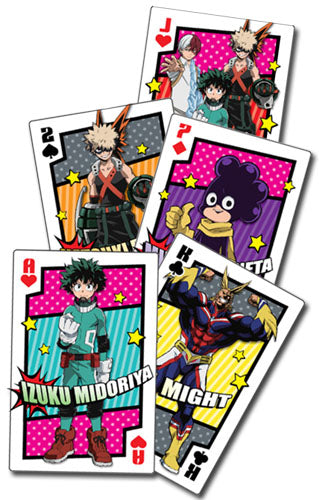 MY HERO ACADEMIA - HERO COSTUME GROUP PLAYING CARDS