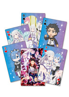 RE:ZERO - GROUP PLAYING CARDS