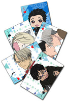 YURI!!! ON ICE - SCREENSHOT & SD PLAYING CARDS