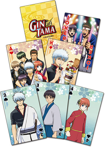 GINTAMA S3 - GROUP PLAYING CARDS