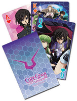 CODE GEASS - BIG GROUP PLAYING CARDS