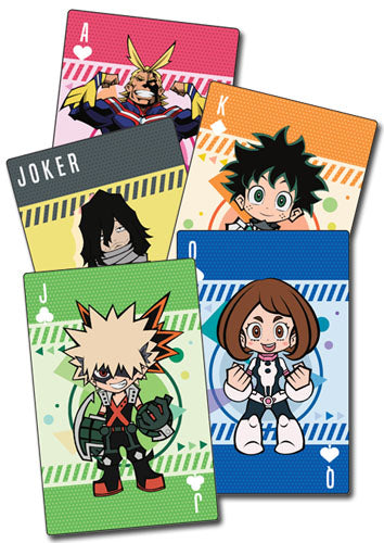 MY HERO ACADEMIA - SD GROUP PLAYING CARDS