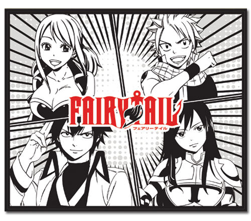 FAIRY TAIL S5 GROUP THROW BLANKET