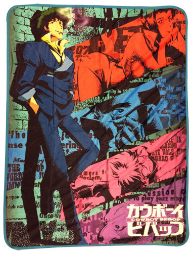 COWBOY BEBOP - SPIKE SUBLIMATION THROW BLANKET