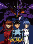 EVANGELION - GROUP SUBLIMATION THROW BLANKET