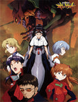 EVANGELION - GROUP IN CITY SUBLIMATION THROW BLANKET