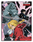 FULLMETAL ALCHEMIST - GROUP SUBLIMATION THROW BLANKET