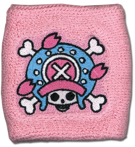 ONE PIECE CHOPPER SKULL ICON WRISTBAND