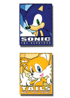 SONIC THE HEDGEHOG SONIC & TAILS FRAME PVC PIN SET