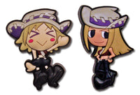 SOUL EATER THOMPSON SISTERS PVC PIN SET