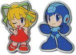 MEGAMAN POWERED UP MEGAMAN AND ROLL PIN SET