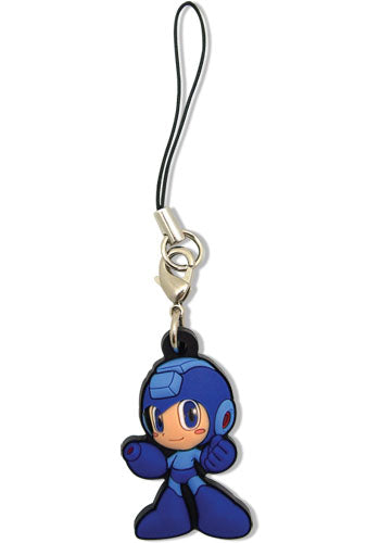 MEGA MAN POWERED UP MEGA MAN PVC CELL PHONE CHARM
