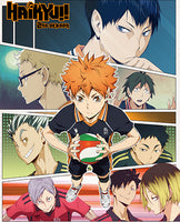 HAIKYU!! S2 - KEYART #2 SUBLIMATION THROW BLANKET