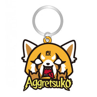 Aggretsuko Soft Touch Key Ring