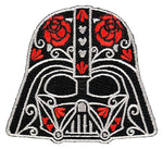 Loungefly Star Wars Darth Vader Roses Helmet Embroidered Patch
