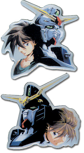 GUNDAM WING HEERO AND DUO PINSET