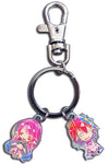 NO GAME NO LIFE - JIBRIL & STEPH METAL KEYCHAIN