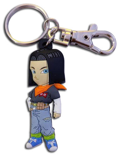 DRAGON BALL Z - SD ANDROID 17 PVC KEYCHAIN