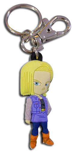 DRAGON BALL Z - SD ANDROID 18 PVC KEYCHAIN