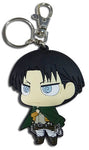 ATTACK ON TITAN - SD LEVI DEDICATE STANCE PVC KEYCHAIN
