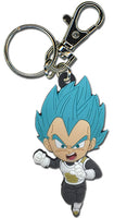 DRAGON BALL SUPER - SS BLUE VEGETA B PVC KEYCHAIN (Dark Outfit)