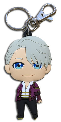 YURI!!! ON ICE - VICTOR SD PVC KEYCHAIN