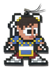 SUPER STREET FIGHTER IV 8BIT CHUN-LI CELLPHONE CHARM