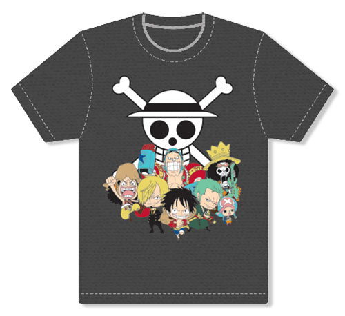 ONE PIECE - SD GROUP SCREEN PRINT ADULT SHIRT