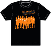 HAIKYU!! - TEAM SILHOUETTE ADULT SCREEN SHIRT