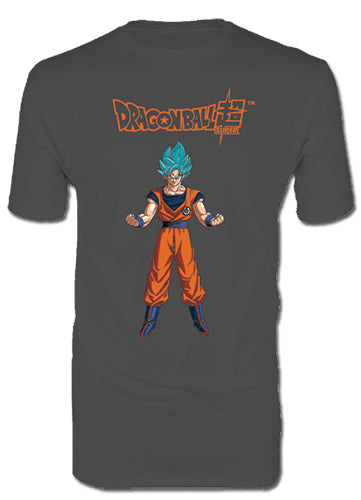 DRAGON BALL SUPER - SS BLUE GOKU MEN'S T-SHIRT