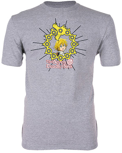 THE SEVEN DEADLY SINS - MELIODAS ADULT SHIRT