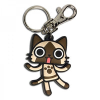 AIROU FROM THE MONSTER HUNTER - AIROU PVC KEYCHAIN