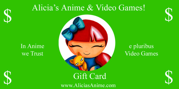 Alicia's Anime Gift Card