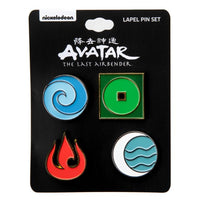 Avatar: The Last Airbender Lapel Pin 4-Pack