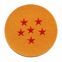 DRAGON BALL Z - 6-STAR DRAGON BALL PATCH