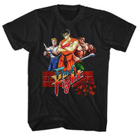 Final Fight Adult Shirt - Cody, Guy, Haggar