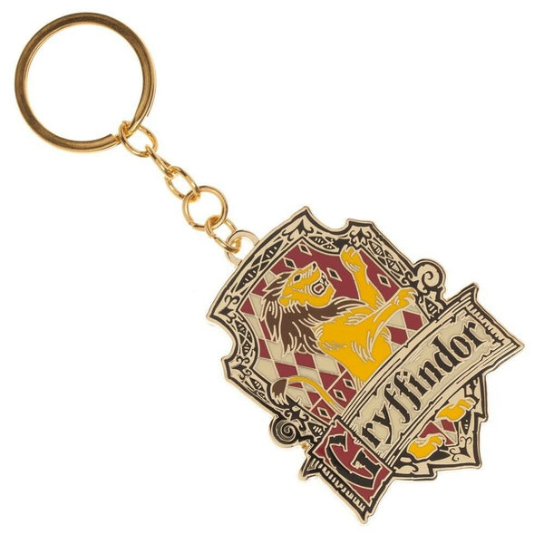 Harry Potter Gryffindor House Metal Keychain