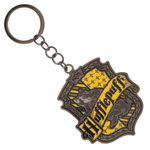 Harry Potter Hufflepuff House Metal Keychain