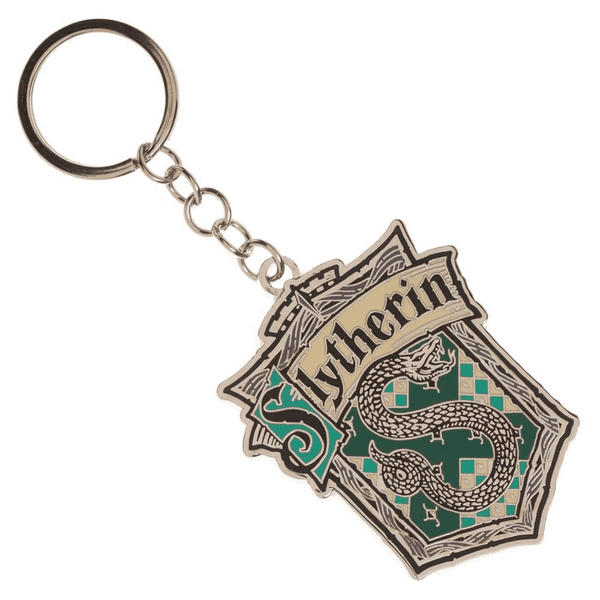 Harry Potter Slytherin House Metal Keychain