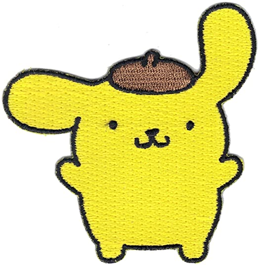 Hello Sanrio Pompompurin Patch
