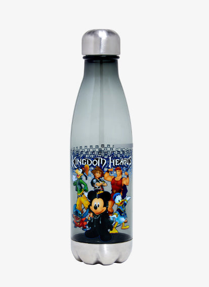 KINGDOM HEARTS LEGENDS CURVED WATER BOTTLE